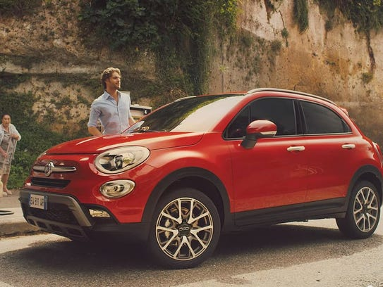 "Super Bowl Fiat ad called ""The FIAT 500X Blue Pill"""