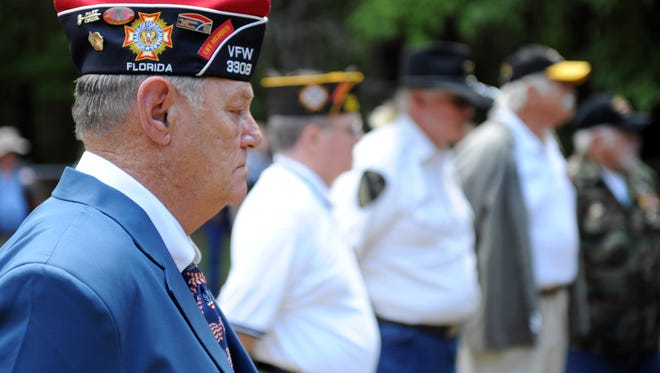 A Memorial Day ceremony was held on Monday, May 27, 2013, honoring all fallen heroes and local members that are buried in the VFW Post 3308 Cemetery on River Road off of Highway 319.