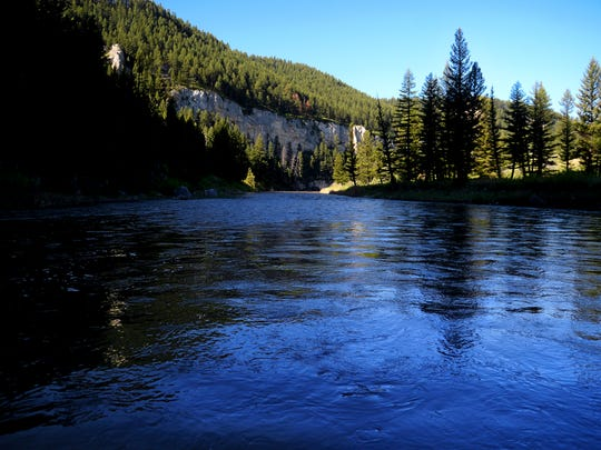 Smith River between Ridge Top campground and Givens