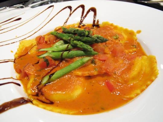 Lobster Ravioli at the new Divieto Ristorante in Coconut
