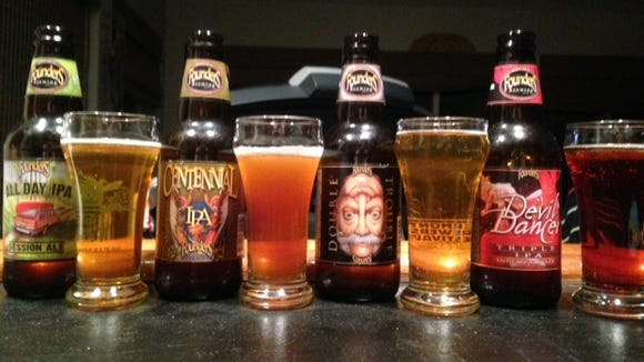 Founders four IPAs