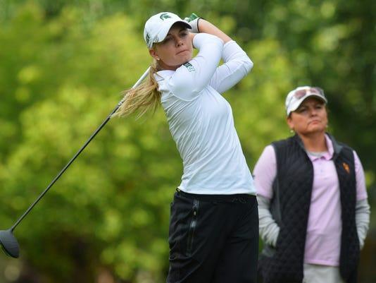 NCAA GOLF:  MAY 20 2016 NCAA Women's Golf National Championship - Day 1