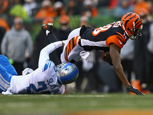 NFL: Detroit Lions at Cincinnati Bengals