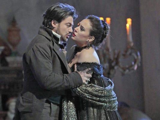 Tosca Vittorio Grigolo, Sonya Yoncheva Ken Howard Metropolitan Opera