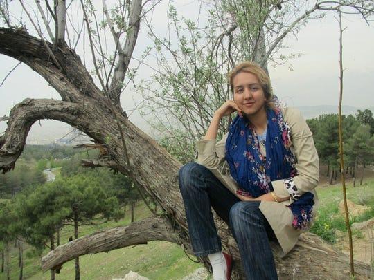 Iranian native Sanaz Nezami was brutally beaten to