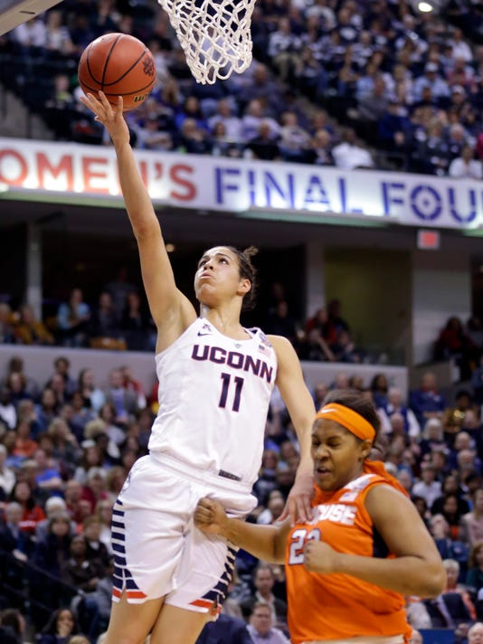 Returning UConn players say they're ready to take baton