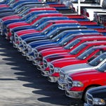 Because the U.S. car market has been strong for so long, the year-ago levels are harder to beat. That doesn't mean demand is weakening.