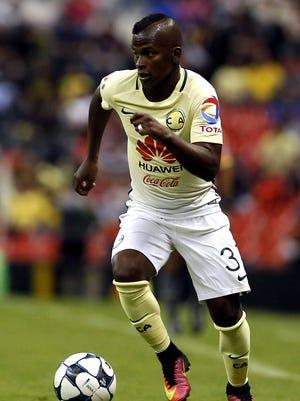 Darwin Quintero, jugador del América.