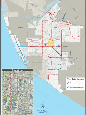 The city of Oxnard is considering to expand its fiber optic network.