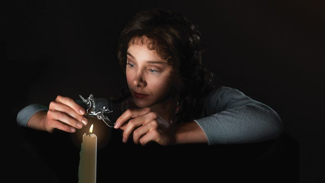 """Christina King plays Laura in Alabama Shakespeare Festival's production of """"The Glass Menagerie."""""""