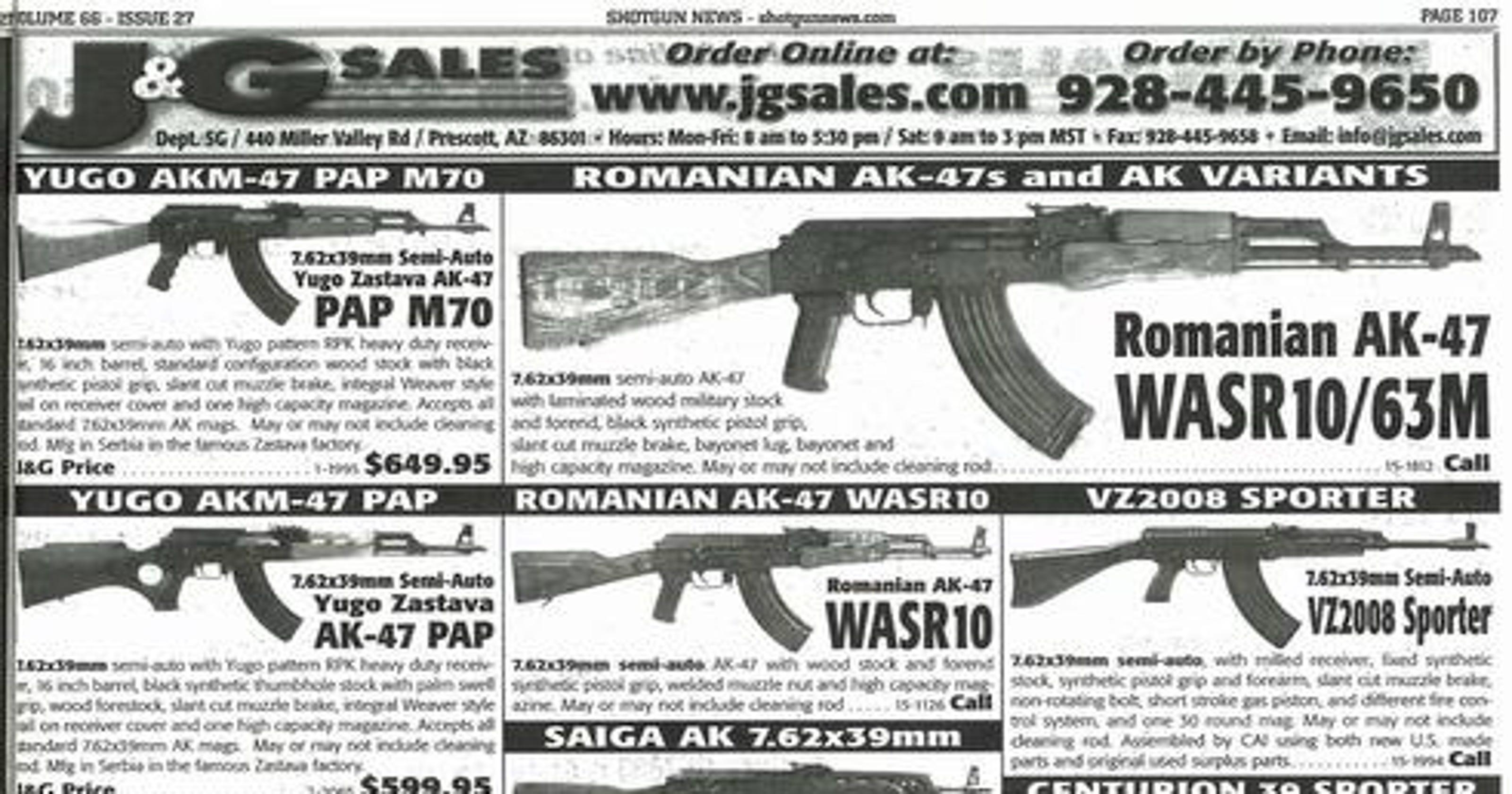 Romanian WASR10 AK47 military variation rifle w military style