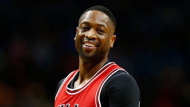 Chicago Bulls guard Dwyane Wade will pick up his option and stay with the Bulls next season.