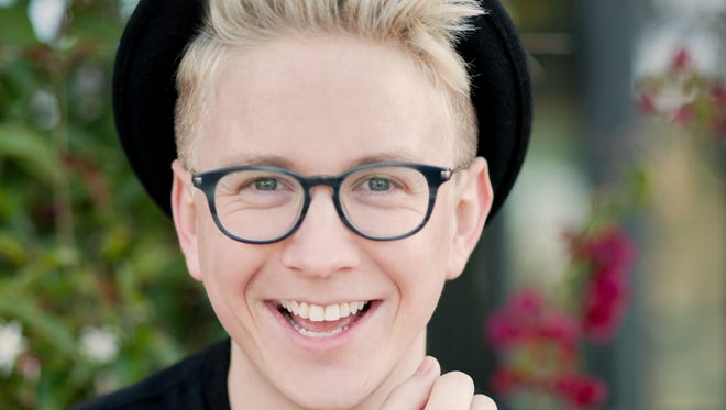 """Tyler Oakley's new book, """"Binge,"""" is available now."""