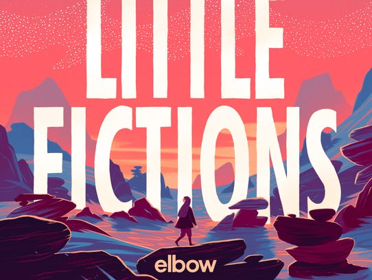 "Album cover for Elbow's ""Little Fictions."""