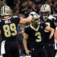 Goodbye, Cleveland! Hello New Orleans! Saints come back to win 21-18 on late field goal