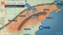 The weather in the Lower Hudson Valley continues to quickly turn from freezing temperatures and snow to warm and sunny weather.