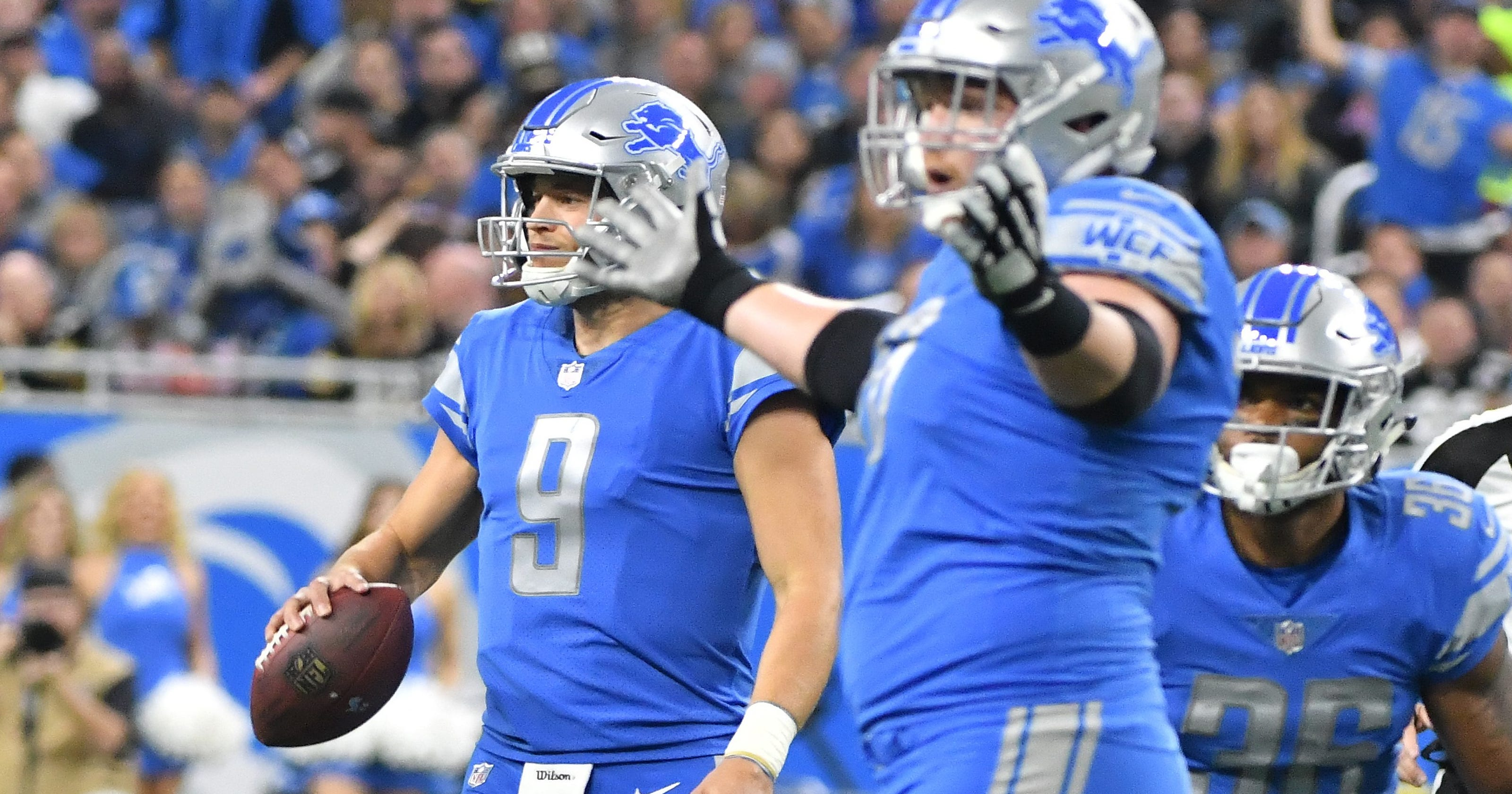 6b9bb6297 Lions mailbag: RB trades, red-zone woes and the NFL's middle class