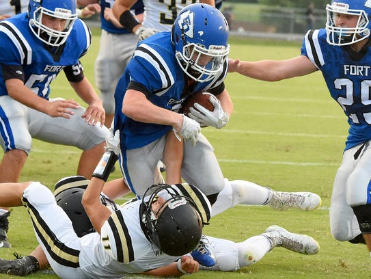 Fort Defiance's Matthew Wonderley rushed for 175 yards