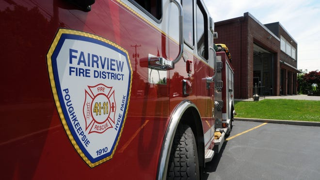 The Fairview Fire District station on Route 9G in the Town of Poughkeepsie.
