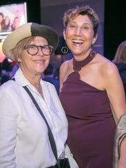 (L-R): Barbara Zacky and EQCA National Policy Director