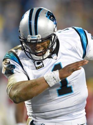 Panthers quarterback Cam Newton