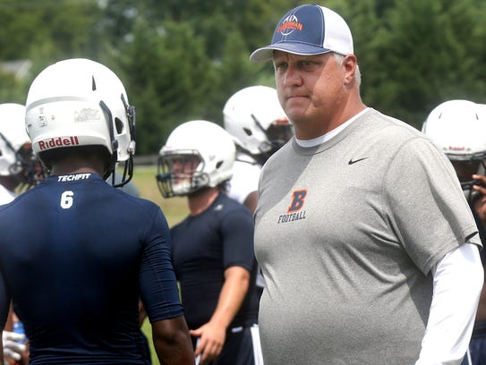 Blackman coach David Watson and his Blaze are favorites