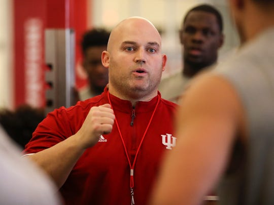 New IU strength and conditioning coach David Ballou