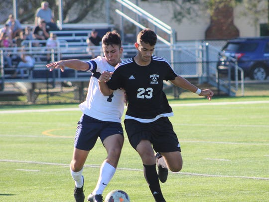Ramirez, left, helped lead Pequannock to a 14-7-2 record last fall and an appearance in the North 1 Group 2 state sectional semifinals.