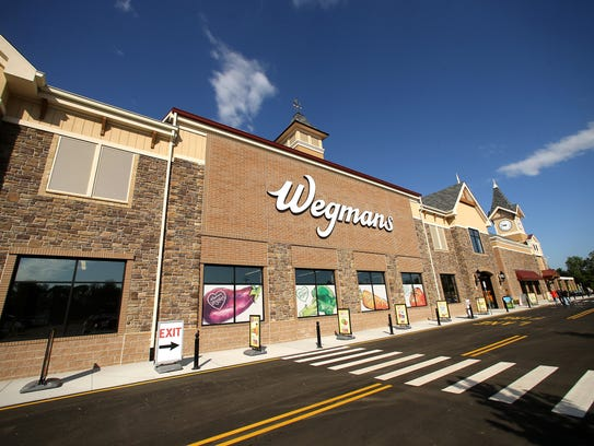 The new Hanover Wegmans, a 113,000 square-foot supermarket,