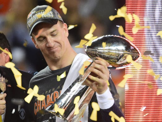 Peyton Manning retired after winning his second career