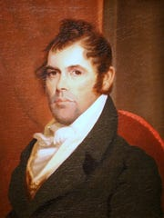 A portrait of Richard Mentor Johnson by painter Matthew