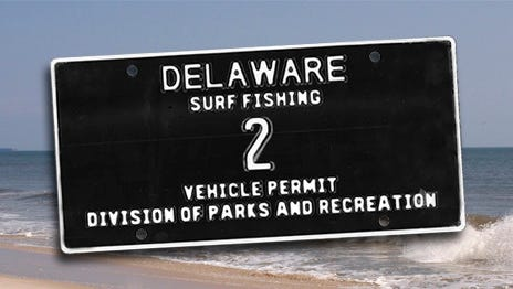 State Park officials will sell Surf Tag 2 in an online action which begins Thursday.