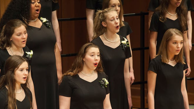 The Lawrence Academy of Music's Girl Choir will present its annual winter concert Saturday in the Lawrence Memorial Chapel.