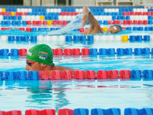 Olympic Swimmers Train In Cocoa Beach Ahead Of Rio 2016