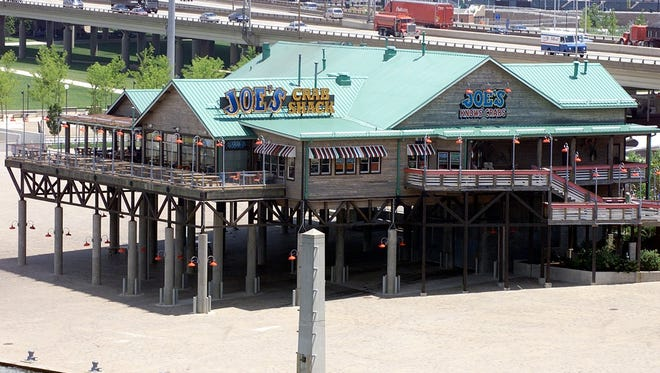 A 2000 Courier-Journal file photo of Joe's Crab Shack on the Louisville waterfront.
