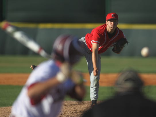 Leon junior Tyler Borges threw a five-inning perfect
