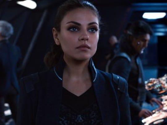 """Mila Kunis stars in sci-fi thriller """"Jupiter Ascending."""""""