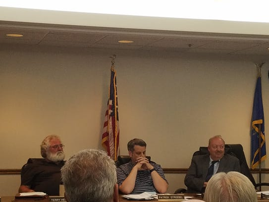 The Brookfield Town Board spent time during theTuesday,