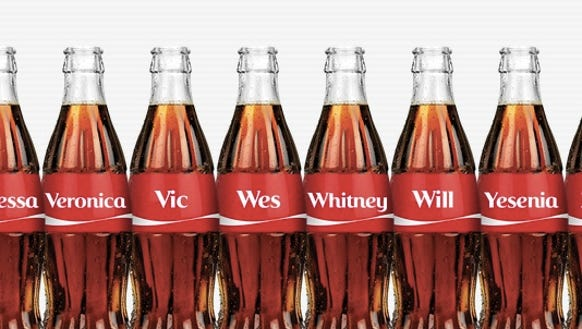 Is Your Name On A Coke Bottle Find Out Now