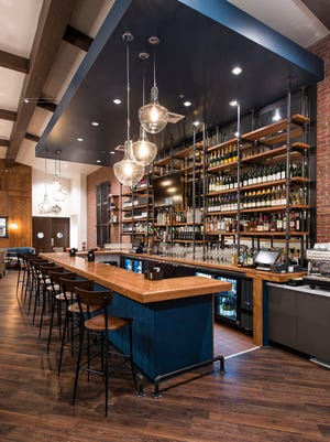 Spanning 3,100 square feet, the restaurant space at The Herb Box includes indoor and outdoor seating for 140 guests, in a new farmhouse-nautical design defined by whitewashed wood walls, dark wood accents, chandeliers and a full bar.