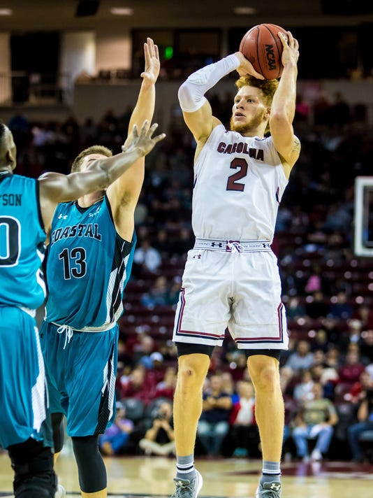NCAA Basketball: Coastal Carolina at South Carolina