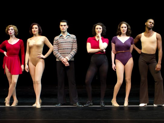 'A Chorus Line' tells true stories of the lives of