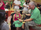 Leah Smallwood shaved her head at the 2016 St. Baldrick's