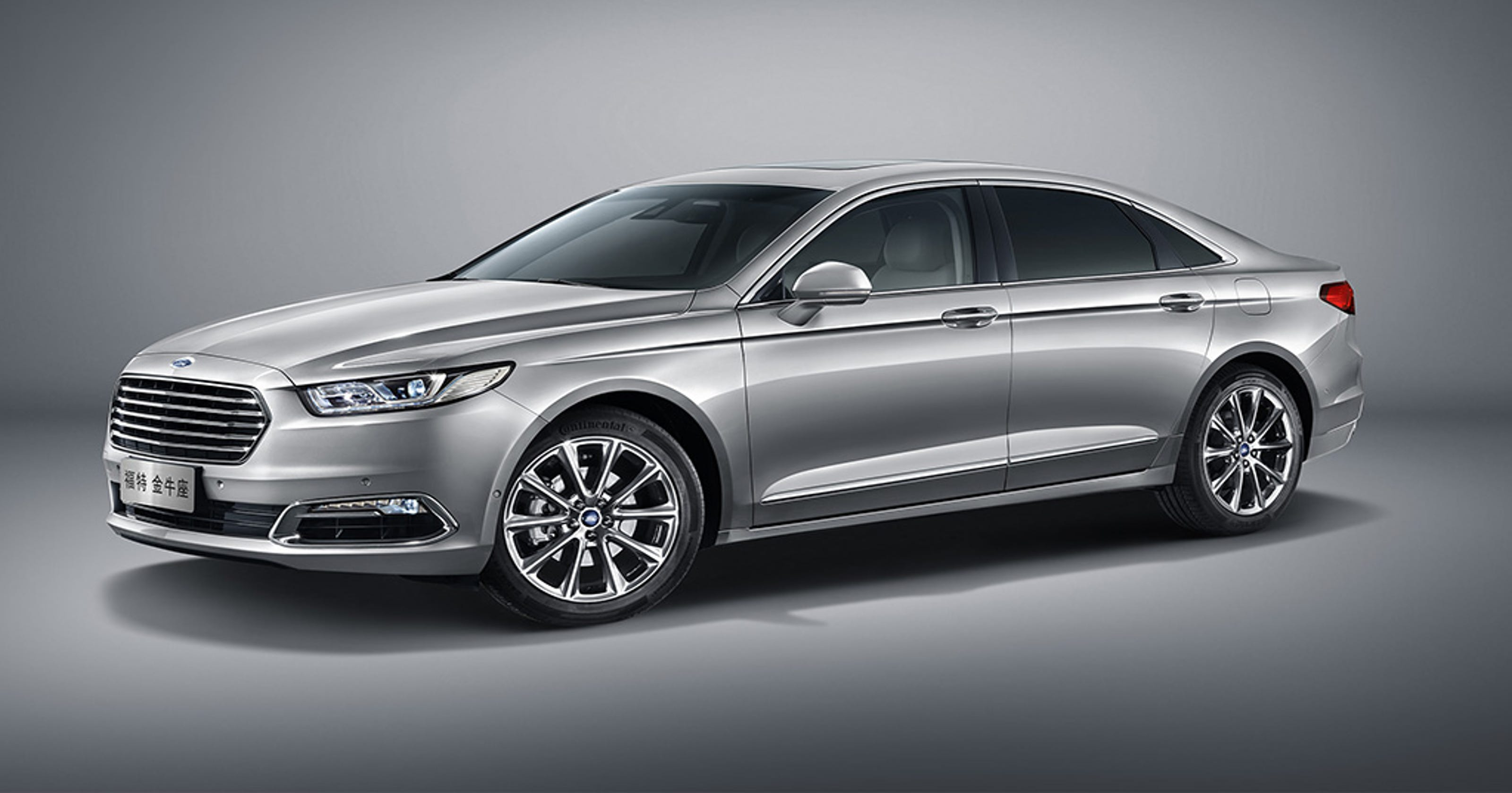 Ford shows redone Taurus for China b63979f72d590
