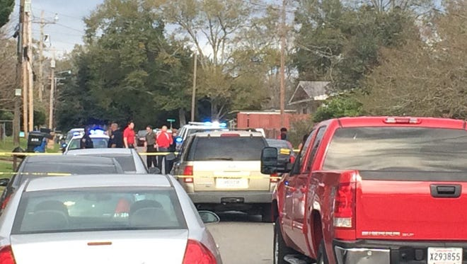 A shooting on Champagne Street Friday afternoon that put two in the hospital