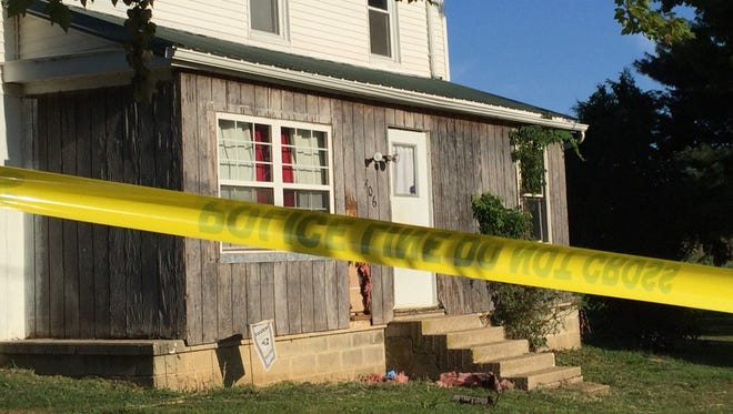 Police found the bodies of Foday Cheeks, 31, and Danielle Taylor, 26, in a house on Brown Road in Fawn Township on Sept. 13, 2016. Paul Henry III, 41, now faces the death penalty in their killings.