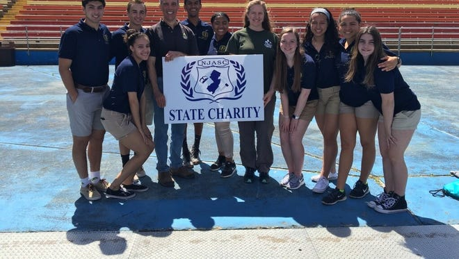 America's Grow-a-Row was selected as the 2017-18 State Charity at the New Jersey Association of Student Council Spring Awards Program held at Six Flags Great Adventure in Jackson, NJ on Wednesday, May 24, 2017.