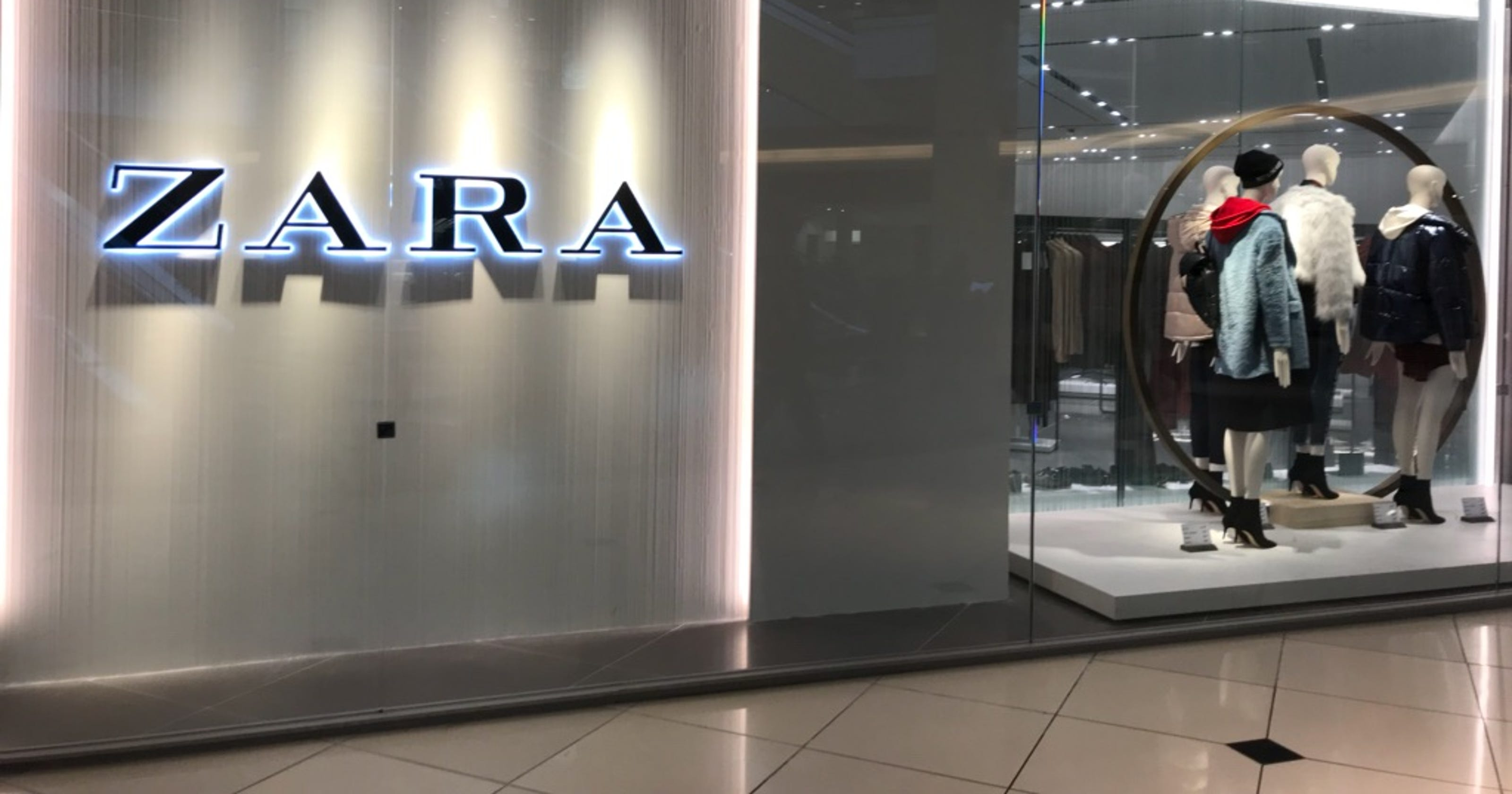 Michigan 39 s first zara store opens at somerset and it 39 s - Interior design jobs in michigan ...