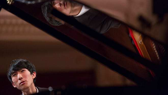 Eric Lu, winner of the U.S. Chopin Foundation competition