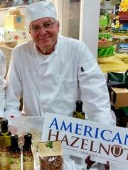 Brad Niemcek, Wisconsin hazelnut grower and general
